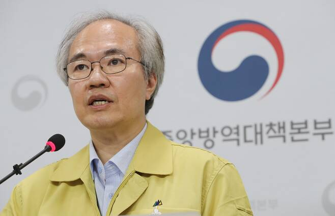 권준욱 중앙방역대책본부 부본부장(국립보건연구원장). 연합뉴스