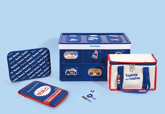 동아제약과 예스24가 내놓은 박카스 관련 상품. 사진 예스24