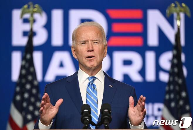 조 바이든 미국 민주당 대선 후보. © AFP=뉴스1