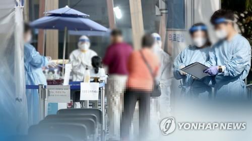코로나19 검사(CG) [연합뉴스TV 제공]