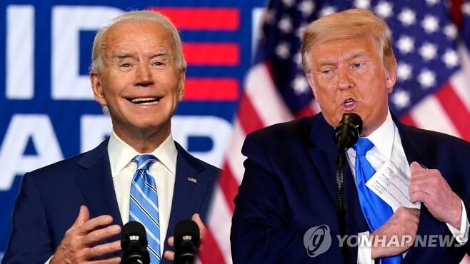 바이든-트럼프 [연합뉴스TV 제공. 재판매 및 DB금지]
