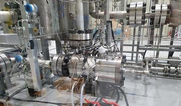 한국원자력연구원이 개발한 원심형 터보 압축기./원자력연 제공