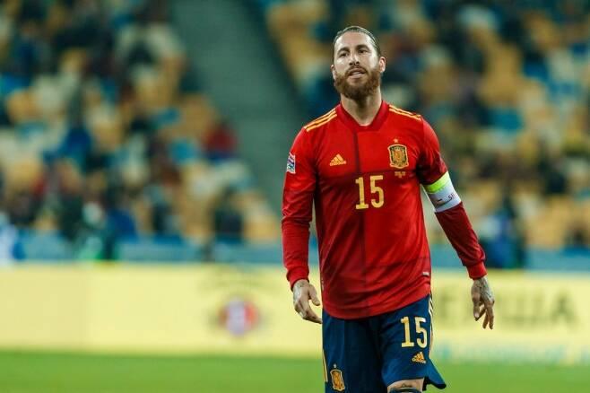 ▲ 라모스를 앞세운 스페인 ⓒ스페인 축구협회 사회관계망서비스