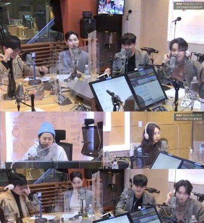 MBC FM4U '정오의 희망곡 김신영입니다' 보이는 라디오 캡처 © 뉴스1