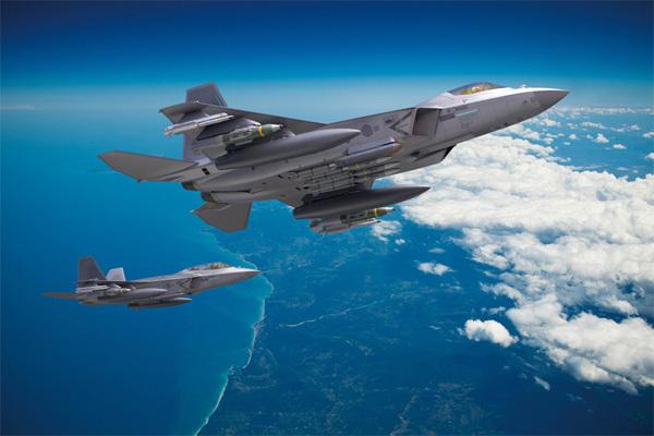 KAI가 개발 중인 한국형 전투기 KF-X. [사진 제공 = KAI]