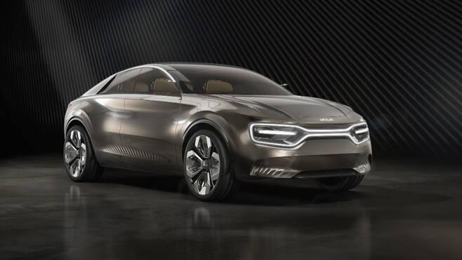 기아자동차가 지난해 3월 제네바모터쇼에서 공개한 콘셉트 전기차 '이매진 바이 기아(Imagine by KIA)'. 사진=기아차