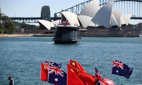 중국-호주 갈등 [글로벌타임스. 재판매 및 DB 금지]