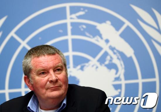 세계보건기구(WHO) 긴급 대응팀 책임자 마이크 라이언 박사. © 로이터=뉴스1
