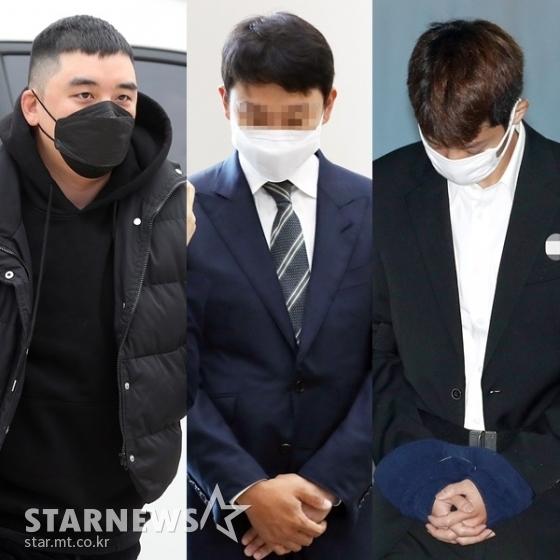 (왼쪽부터) 승리, 유인석, 정준영 /사진=스타뉴스