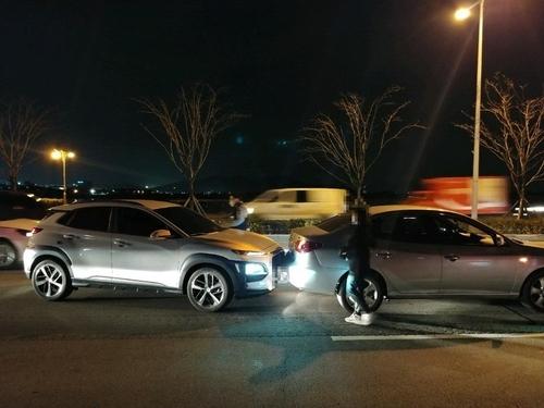 앞차 들이받은 차량 [부산 경찰청 제공. 재판매 및 DB 금지]