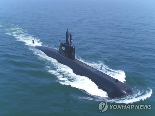 대우조선해양이 인도네시아 해군에 인도한 잠수함 [대우조선해양 제공=연합뉴스]