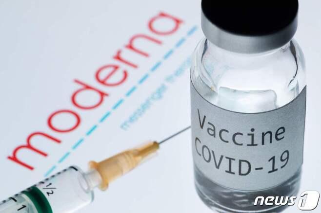 미국 제약사 모더나가 개발 중인 코로나19 백신. © AFP=뉴스1