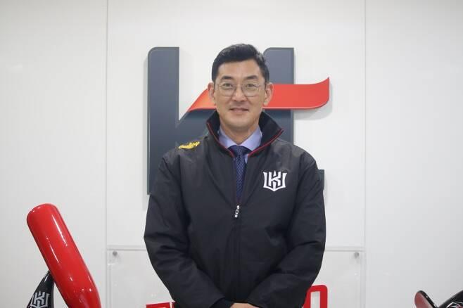 ▲ 서용빈 신임 kt 위즈 퓨처스 감독 ⓒkt 위즈