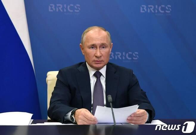 (모스크바 AFP=뉴스1) 블라디미르 푸틴 러시아 대통령.   ⓒ AFP=뉴스1