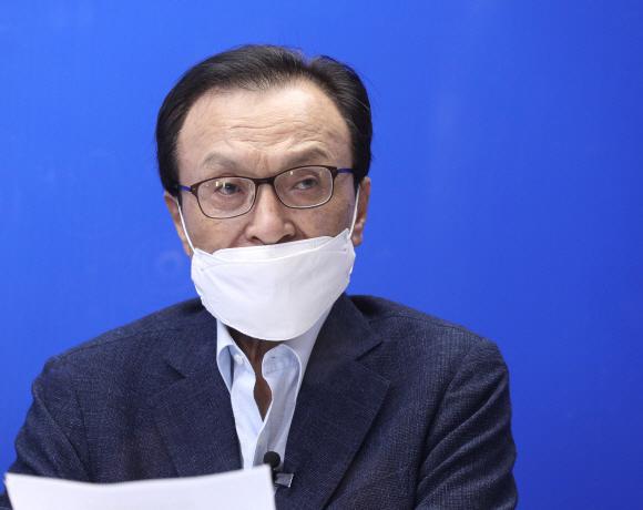 이해찬 더불어민주당 전 대표. 서울신문DB