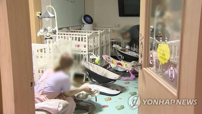 보육원 [연합뉴스TV 제공] 기사와 직접적인 관련 없음