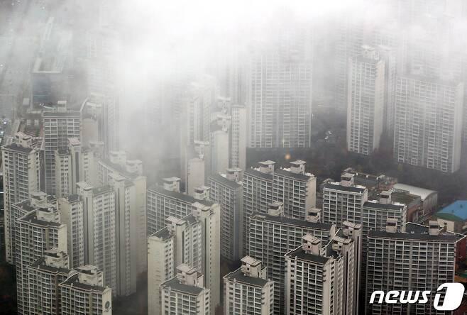 서울 아파트 전경.© News1 이광호 기자
