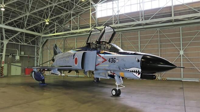 일본 항공자위대의 F-4EJK 팬텀 전폭기 [항공자위대 트위터서 캡처. 재판매 및 DB 금지]