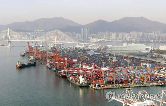 부산항 [연합뉴스 자료사진]