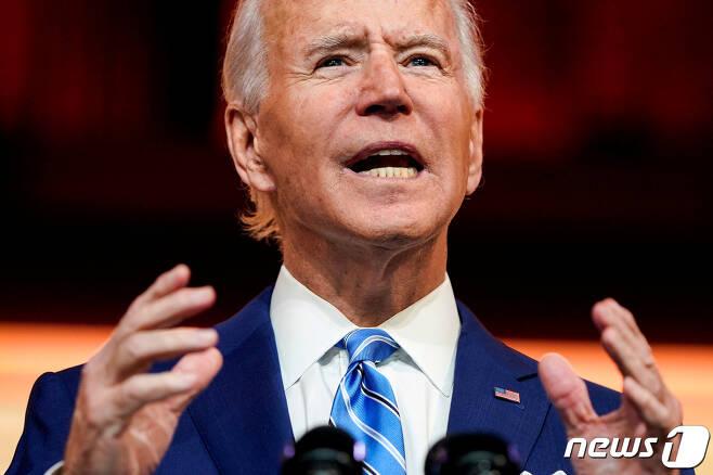 조 바이든 미국 대통령 당선인. © 로이터=뉴스1