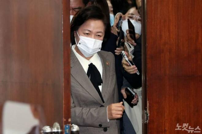 추미애 법무부 장관(사진=윤창원 기자/자료사진)