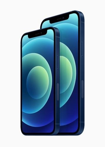 - 아이폰12와 아이폰12 미니. 애플 홈페이지 캡처