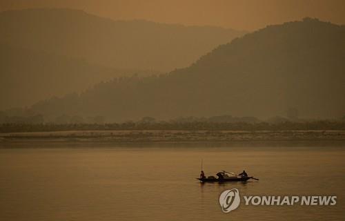 인도 동북부 아삼주를 지나는 브라마푸트라강. [AP=연합뉴스]