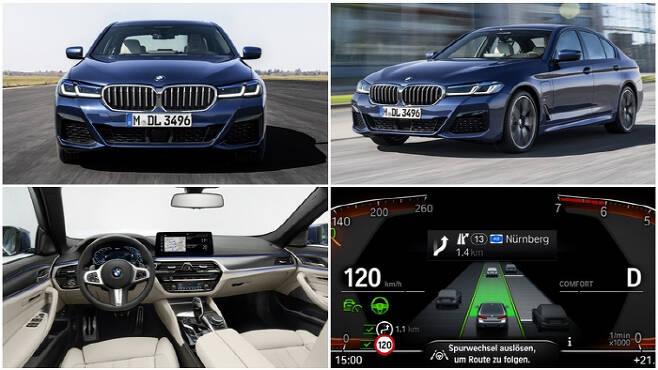 신형 BMW 5시리즈 [사진 제공 = BMW코리아]
