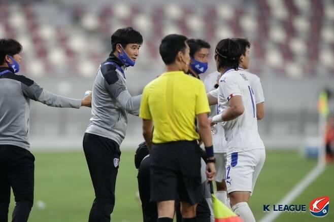 이번 대회의 성과로 박건하 체제는 탄력을 받을 전망이다. (한국프로축구연맹 제공) © 뉴스1
