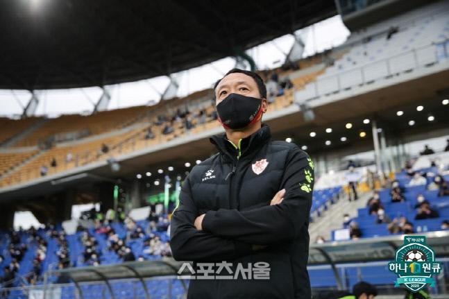 박진섭 감독. 제공 | 한국프로축구연맹