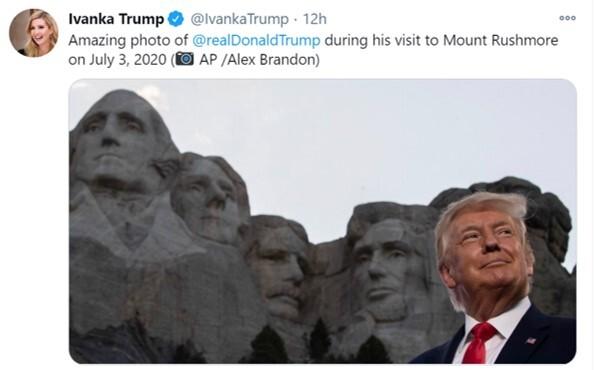 이방카 트럼프 백악관 선임보좌관이 트위터에 올린 사진. 이방카 트위터 캡쳐.