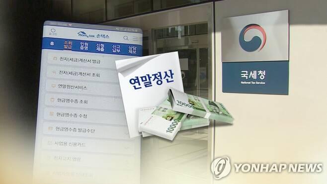 연말정산 (CG) [연합뉴스TV 제공]