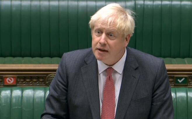 보리스 존슨 영국 총리/사진=AFP