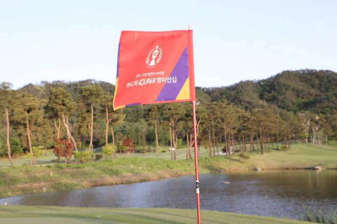 코로나19 사태 이후 가장 먼저 열린 한국여자프로골프(KLPGA) 투어 KLPGA 챔피언십. (사진=KLPGA)