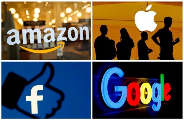 아마존, 애플, 페이스북, 구글 최고경영자(CEO)들이 미 하원 청문회에 동반 출석한다.