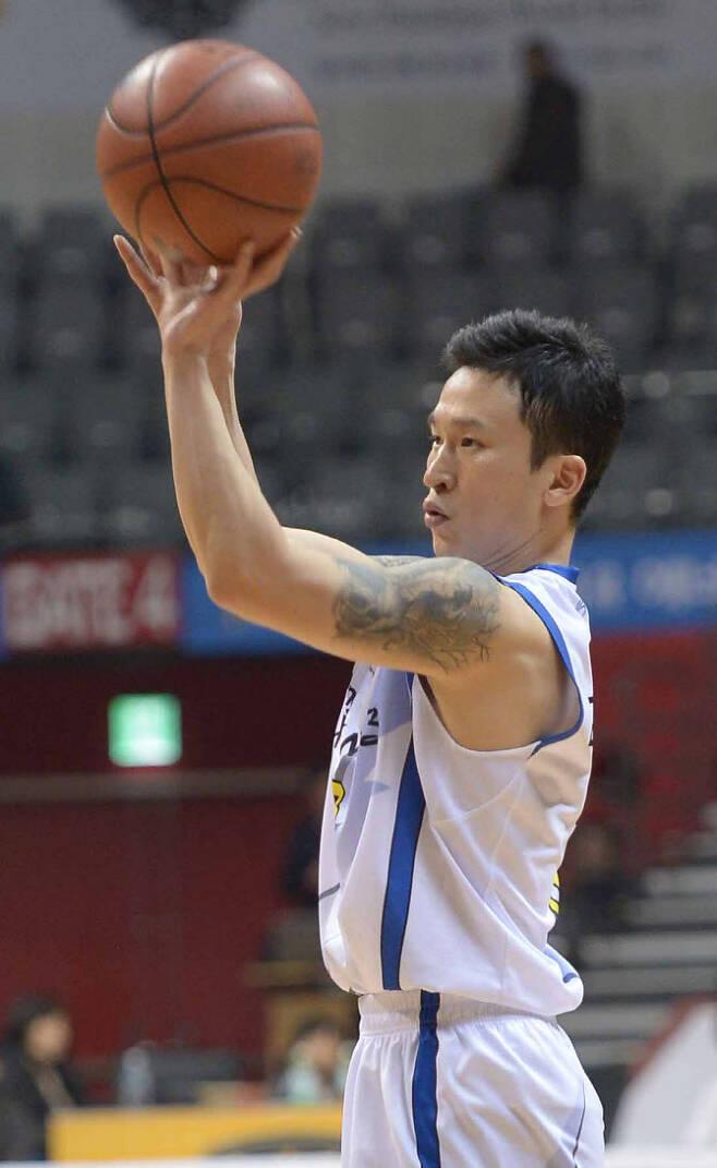 프로농구 선수 시절 김승현. 사진=뉴시스
