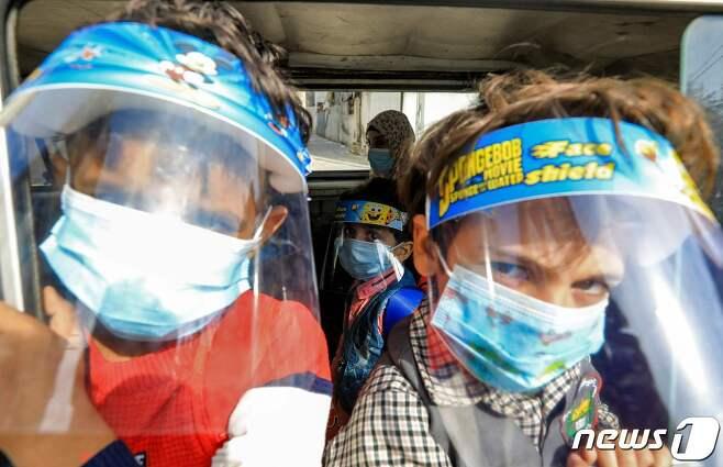 팔레스타인 지역의 어린이들 © AFP=뉴스1