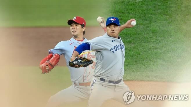 류현진·김광현, 25일 정규시즌 최종전도 동반 출격 (CG) [연합뉴스TV 제공]