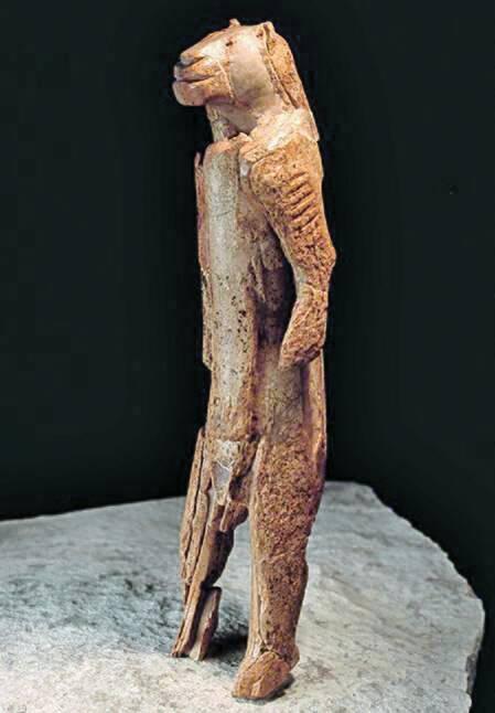 '사자인간', 3만5000~4만 년 전 제작.