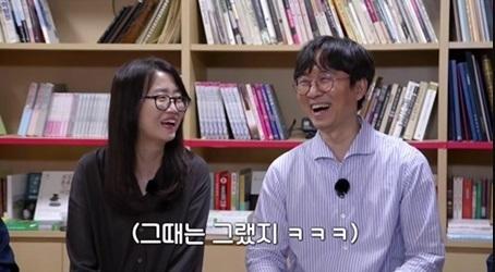 김은희 작가(왼쪽)와 장항준 감독