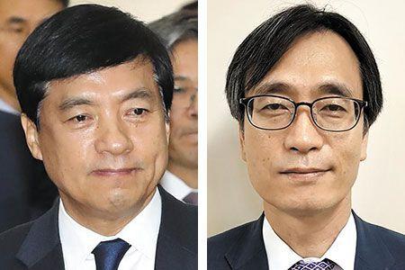 이성윤 중앙지검장, 정진웅 당시 형사1부장(현재 광주지검 차장)