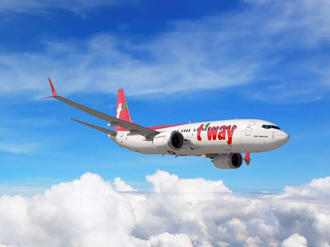 티웨이항공 항공기. (티웨이항공 제공)© News1