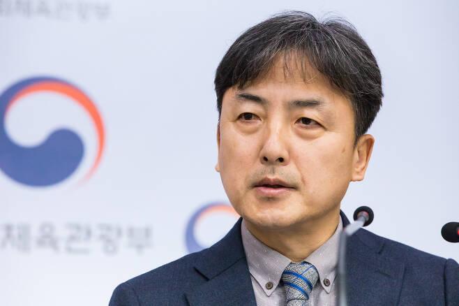 김정배 신임 문체부 제2차관© 뉴스1