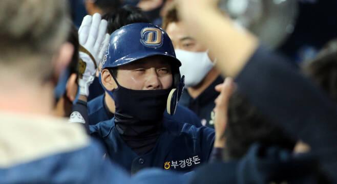 NC 김성욱. 연합뉴스