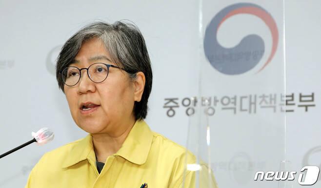 정은경 질병관리청장(중앙방역대책본부장) 2020.12.14/뉴스1 © News1 장수영 기자