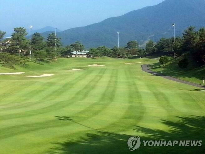 골프장 모습 [연합뉴스 자료사진]
