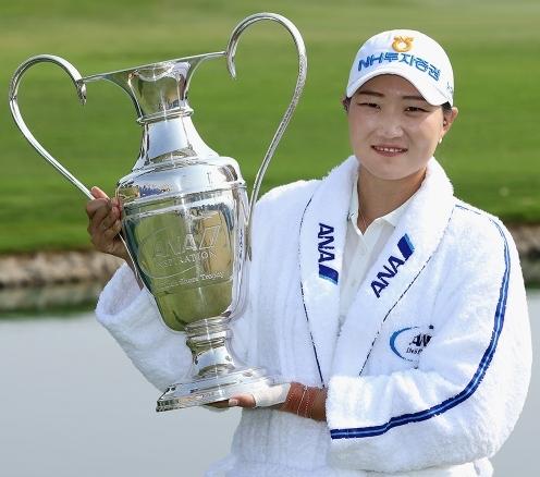2020년 미국여자프로골프(LPGA) 투어 메이저대회 ANA 인스퍼레이션에서 우승을 달성한 이미림 프로. 사진제공=Getty Images