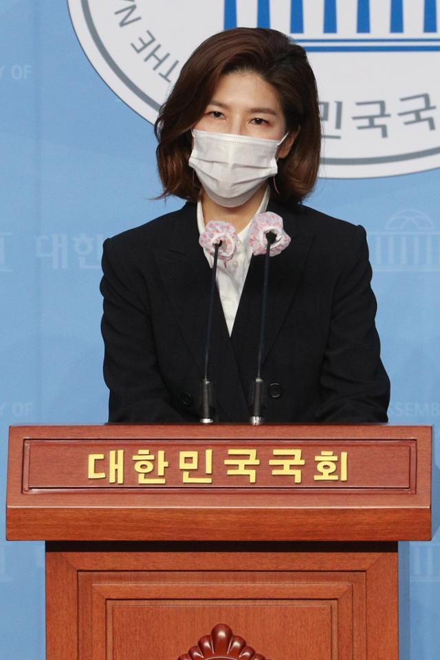 김예령 국민의힘 대변인. 오대근 기자