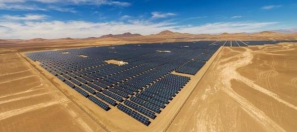 이탈리아 발전회사 에넬(ENEL)이 남미 칠레에 건설한 태양광 발전소 / 에넬 제공