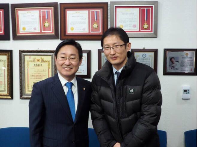박범계 법무부 장관 후보자(왼쪽), 박준영 변호사 (사진=박 후보자 페이스북)